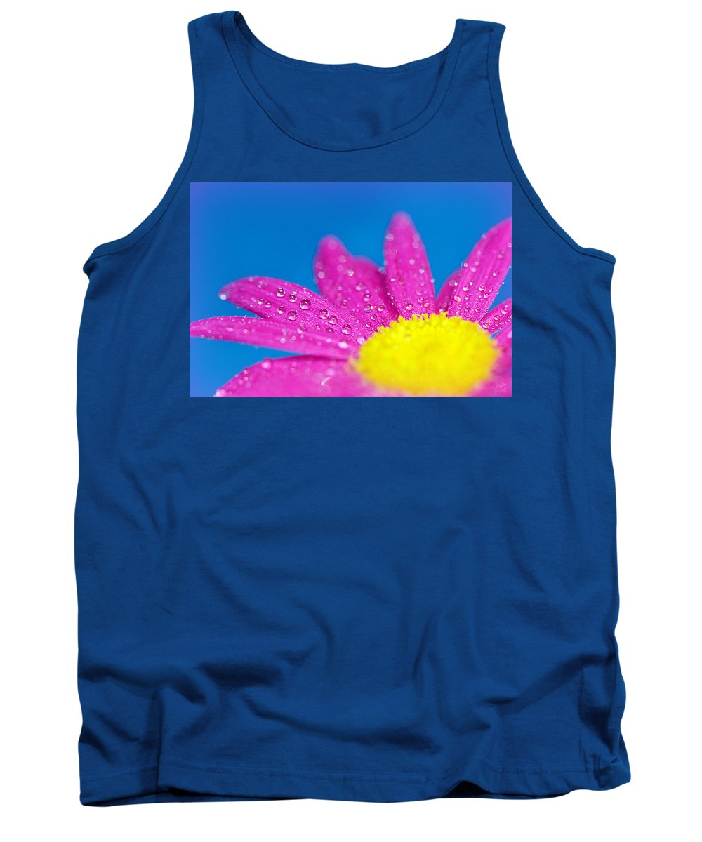Water Tank Top featuring the photograph Celebration A Cacophony Of Colour by Lisa Knechtel