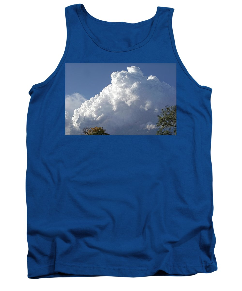 Clouds Tank Top featuring the photograph Cloud Study 120 by Brian King