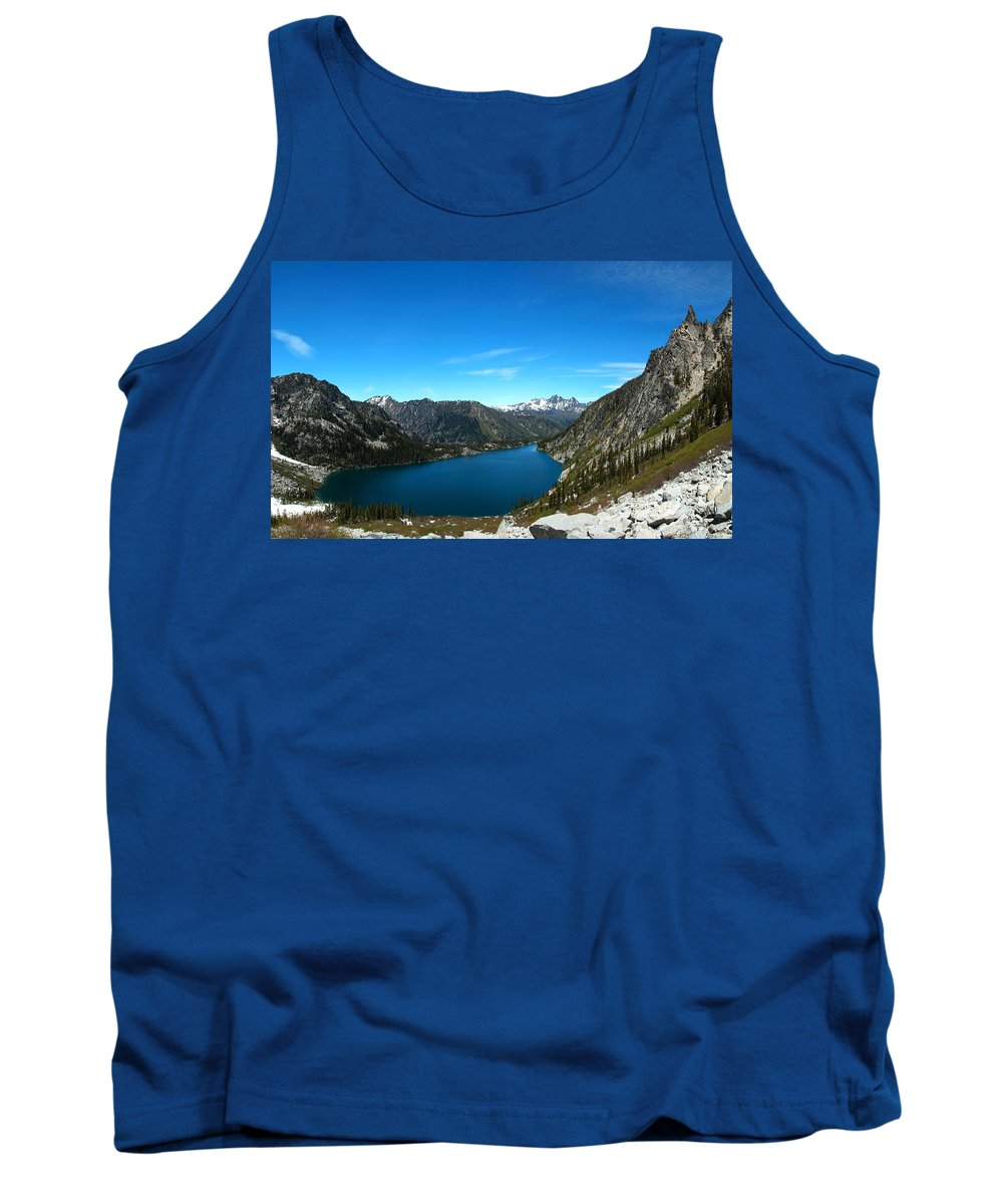 Colchuck Lake Tank Top featuring the photograph Colchuck by Ryan McGinnis