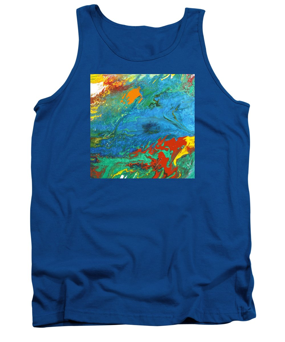 Fusionart Tank Top featuring the painting Daydream by Ralph White