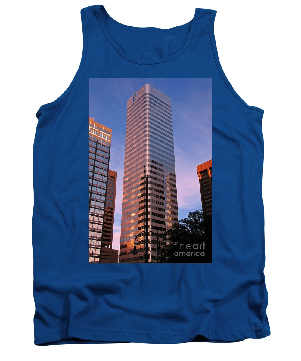 Denver Tank Top featuring the photograph Denver Skyscraper by John Malone