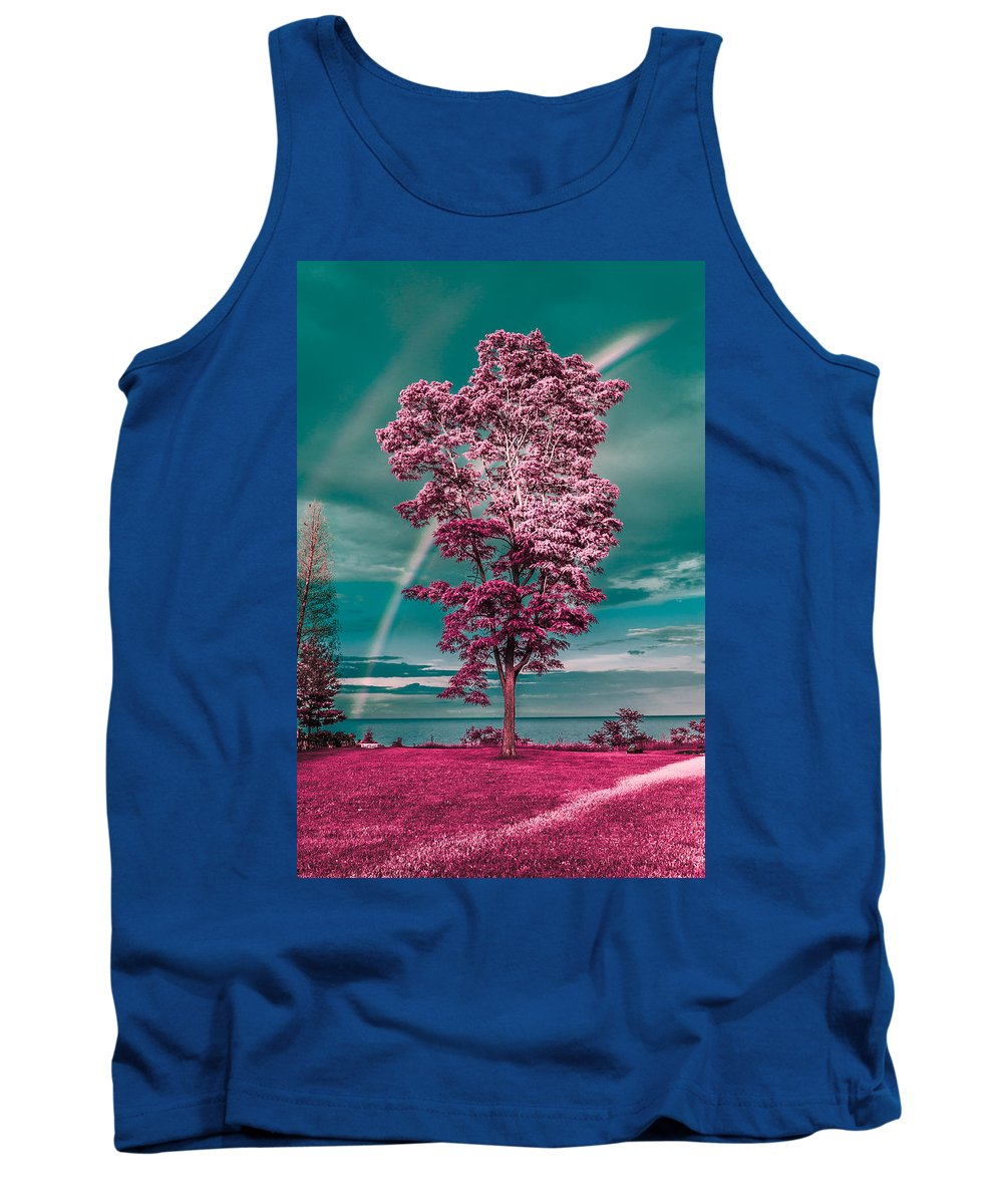Rainbow Tank Top featuring the photograph Double Rainbow by Thomas Visintainer