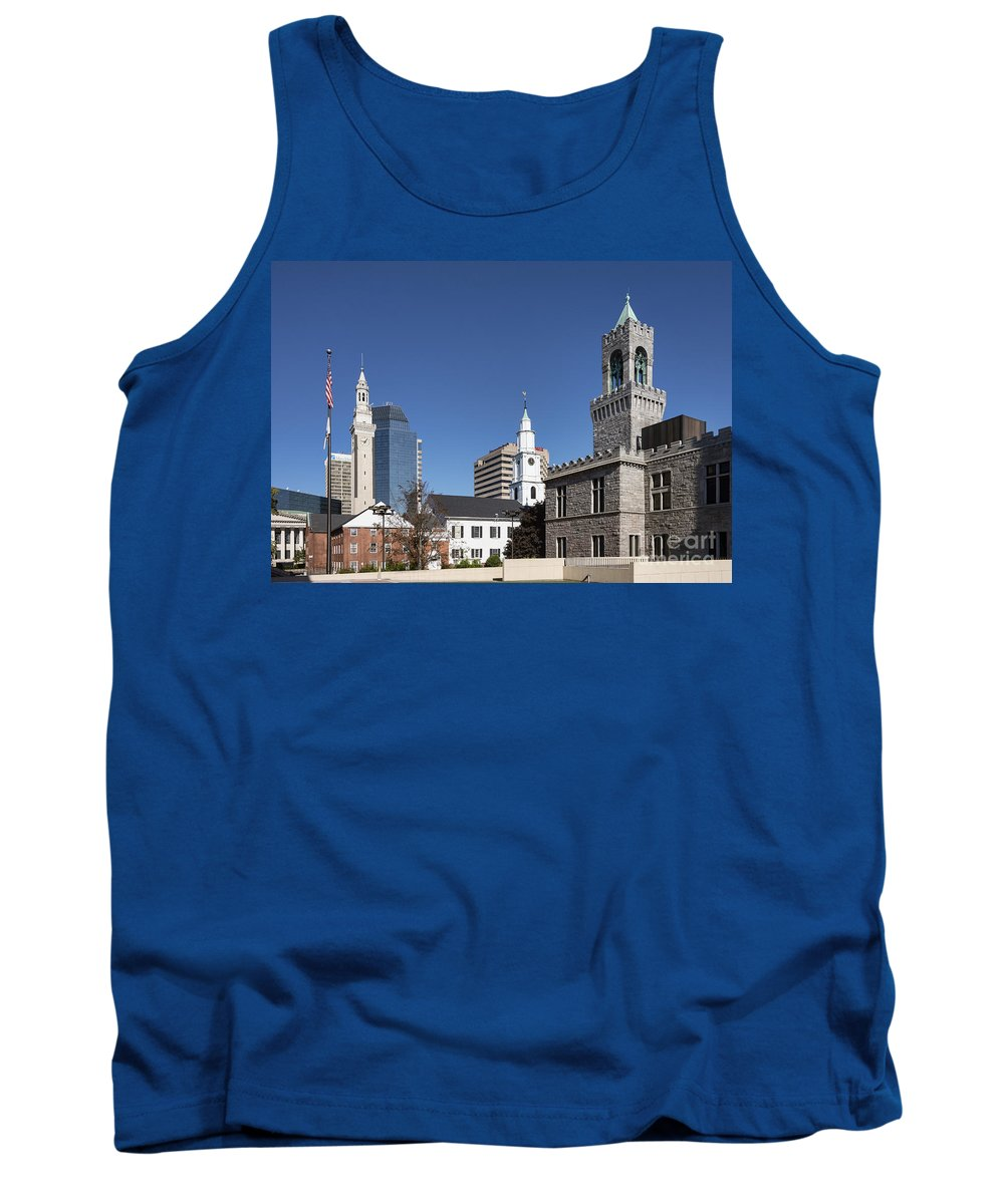 America Tank Top featuring the photograph Downtown Springfield by John Greim