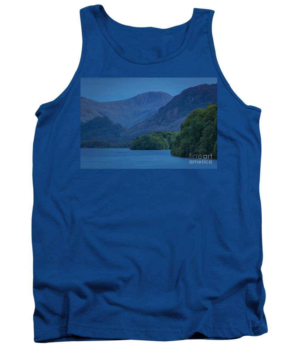 Calm Tank Top featuring the photograph Evening Over Derwentwater by Brian Jannsen