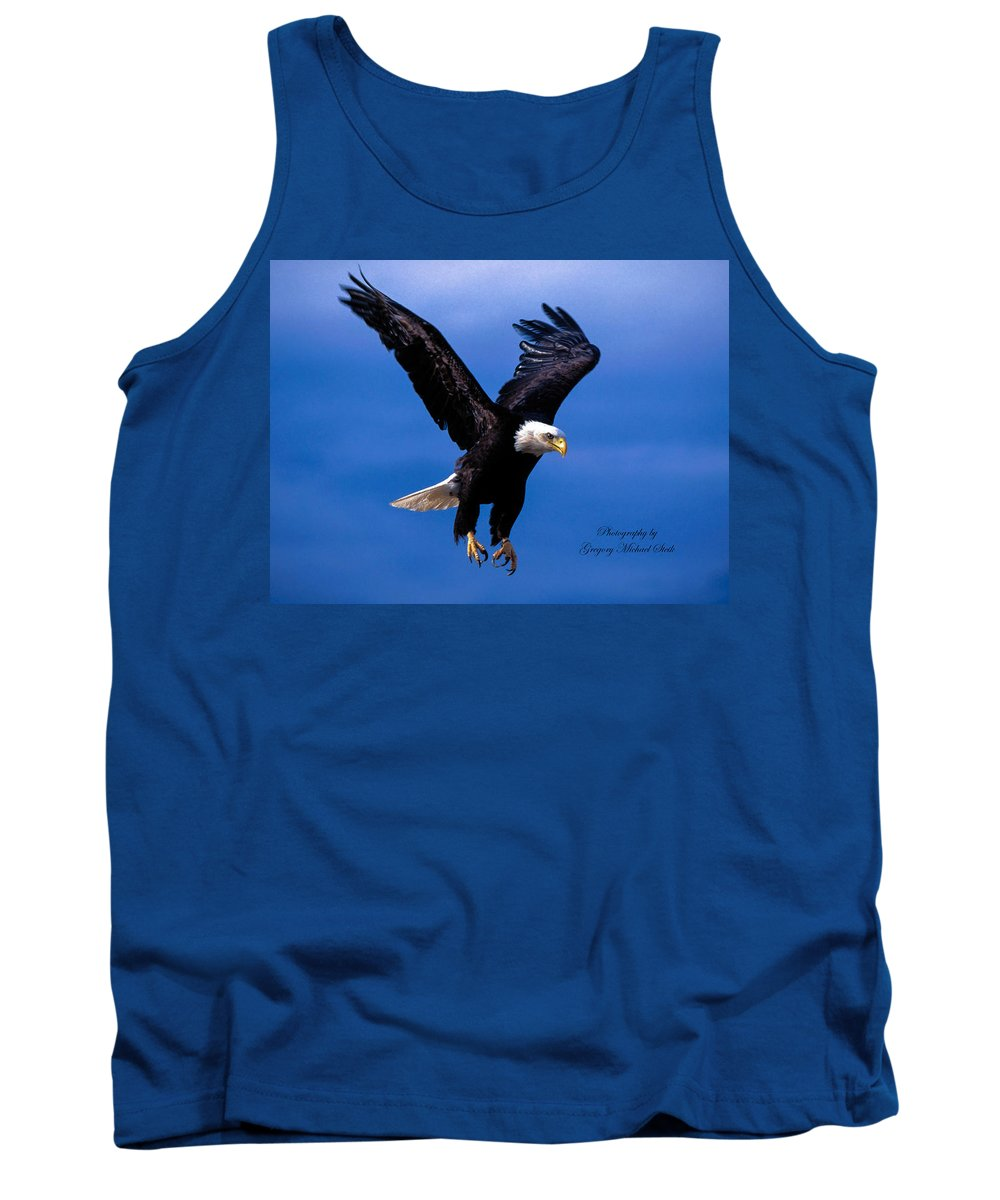 Eagle. Wildlife. Birds Tank Top featuring the photograph Fearsome Bald Eagle by Safe Haven Photography Northwest