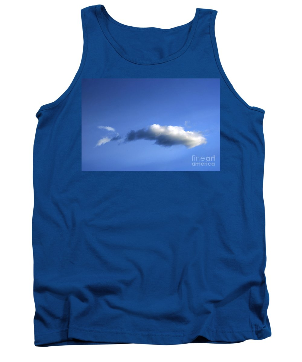 Air Tank Top featuring the photograph Fish Cloud by Cristian M Vela
