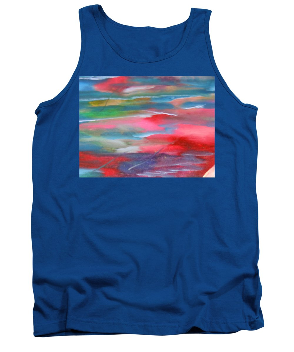 Water Tank Top featuring the painting Fish by Lord Frederick Lyle Morris