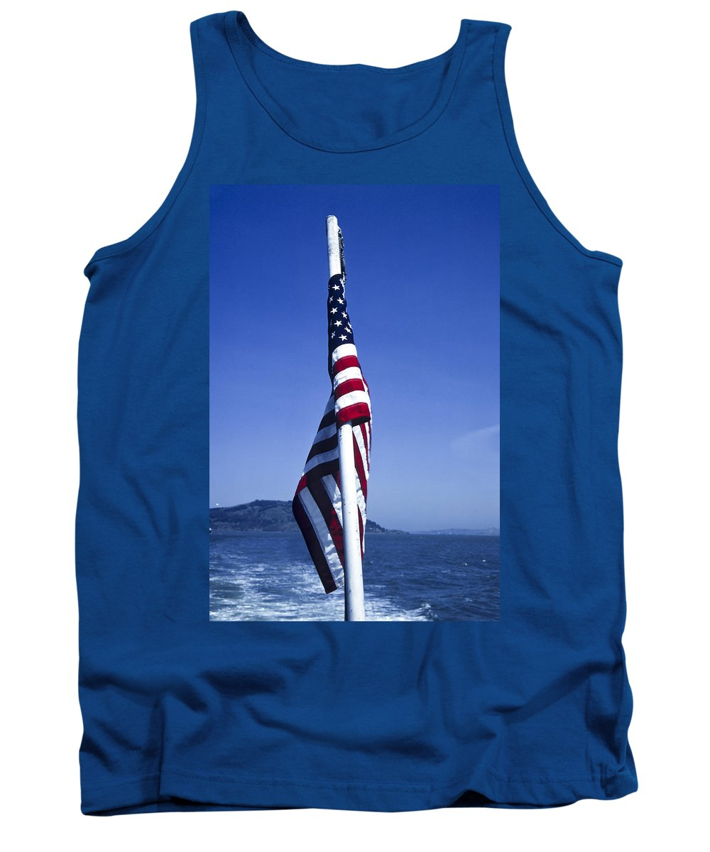 American Flag Tank Top featuring the photograph Furled Flag by Roderick Bley