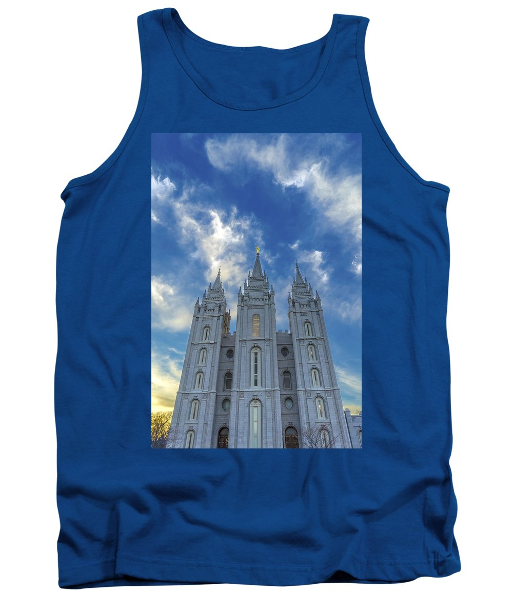 Heavenward Tank Top featuring the photograph Heavenward by Tayne Hunsaker