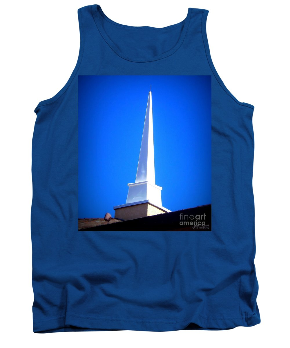 Acrylic Prints Tank Top featuring the photograph Here Is The Steeple by Bobbee Rickard