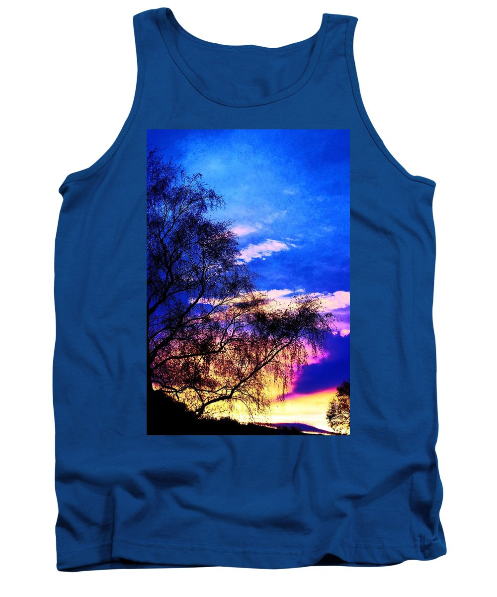 Landscape Tank Top featuring the photograph Hide Child by Brian Raggatt
