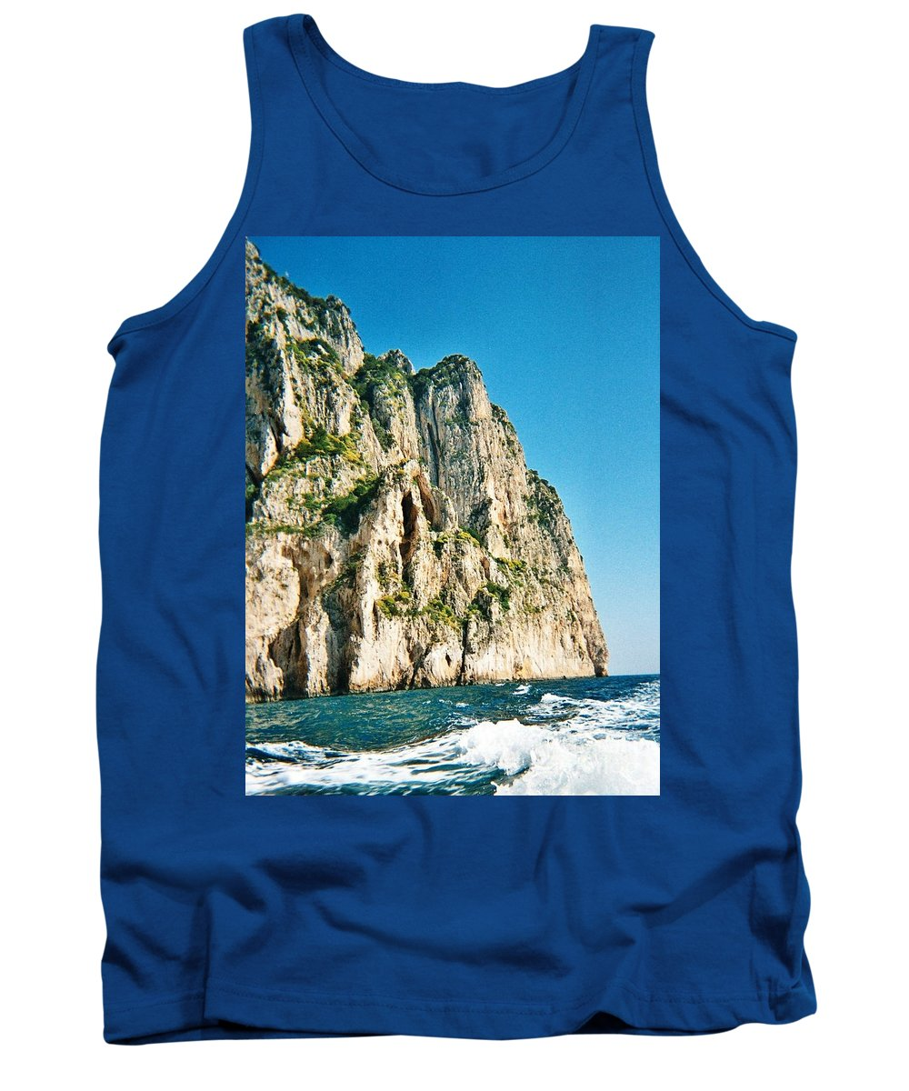 Isle Of Capri Tank Top featuring the photograph Isle Of Capri by Lisa Kilby