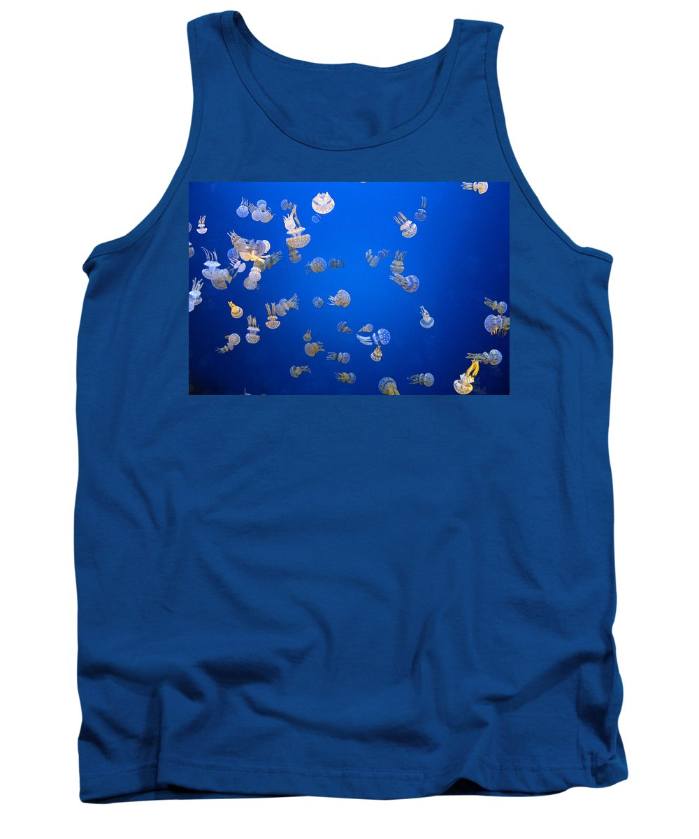Tank Top featuring the photograph Jellyfish by Dan McCafferty