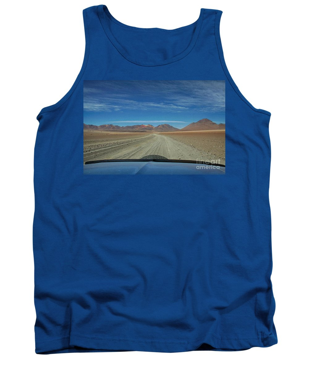 Tank Top featuring the photograph Laguna Circuit by Karla Weber