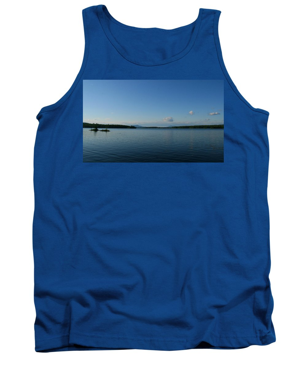 Lake Tank Top featuring the photograph Lake Umbagog by Neal Eslinger