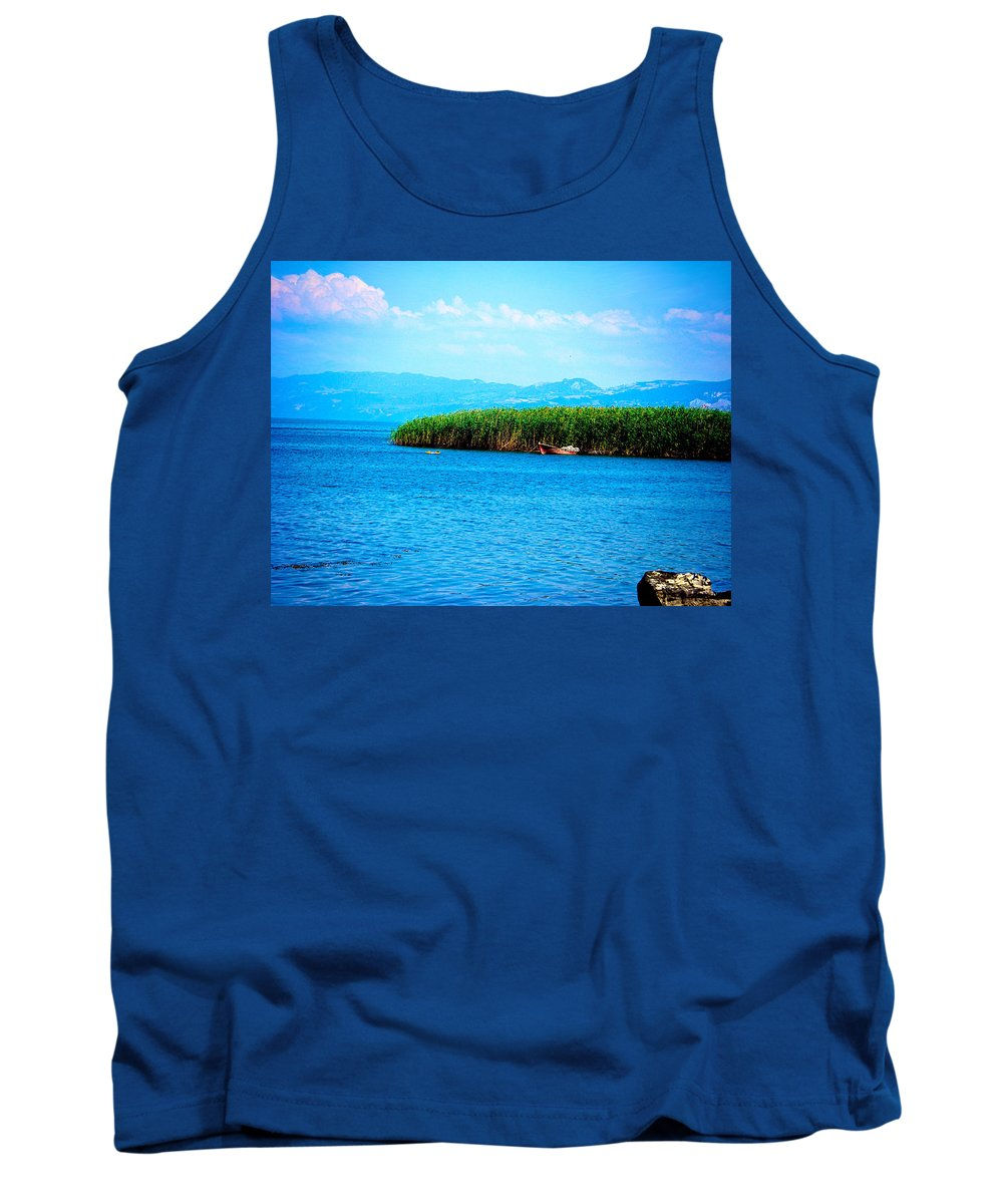 Lake Tank Top featuring the photograph Lakeview by Zafer Gurel
