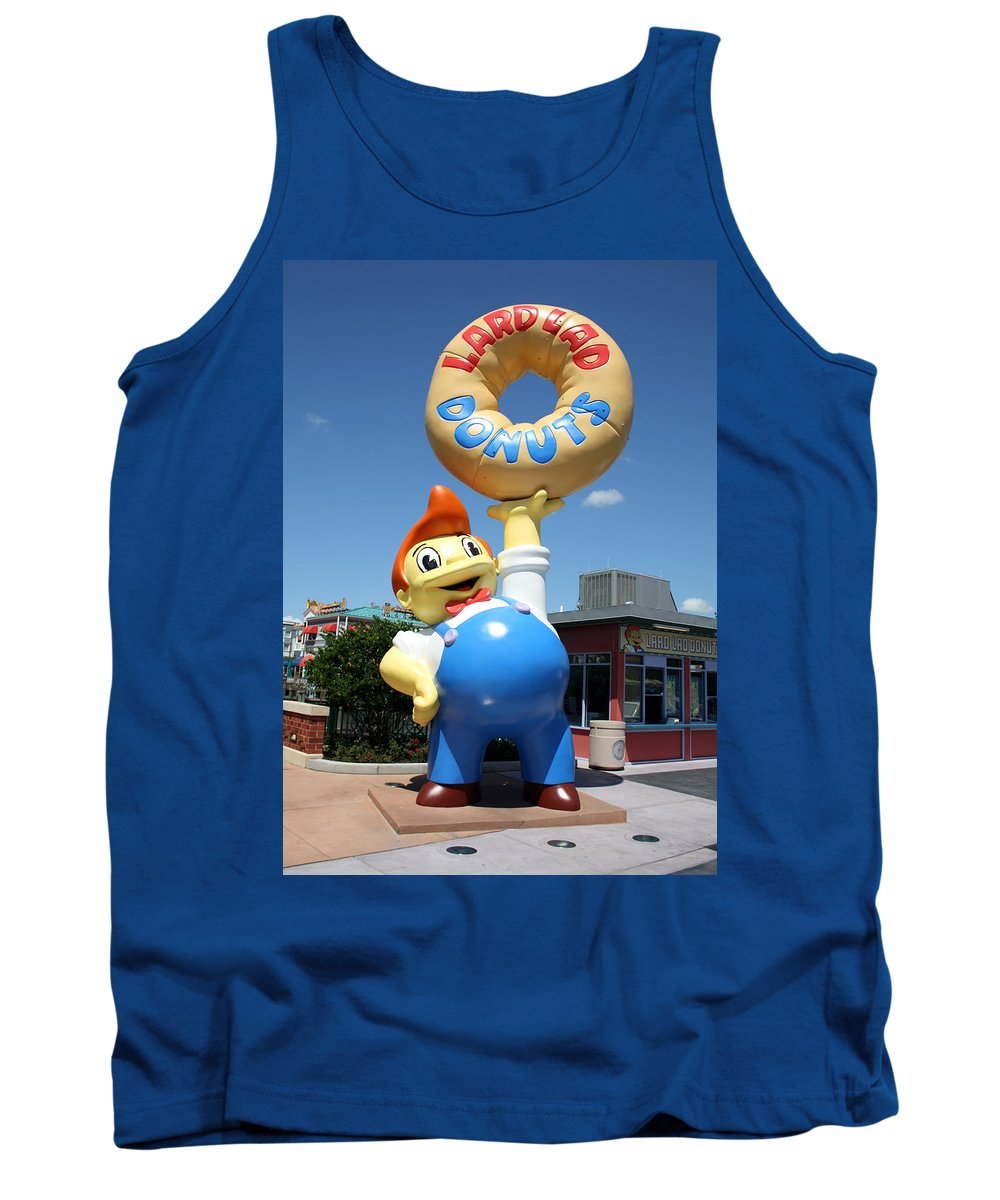 Orlando Tank Top featuring the photograph Lardy by David Nicholls