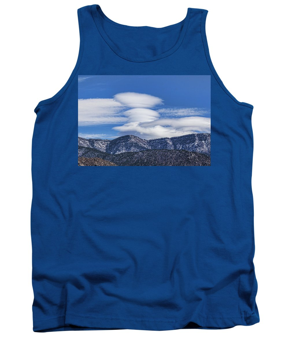 Clouds Tank Top featuring the photograph Lenticular Clouds Forming 493 by Brian King