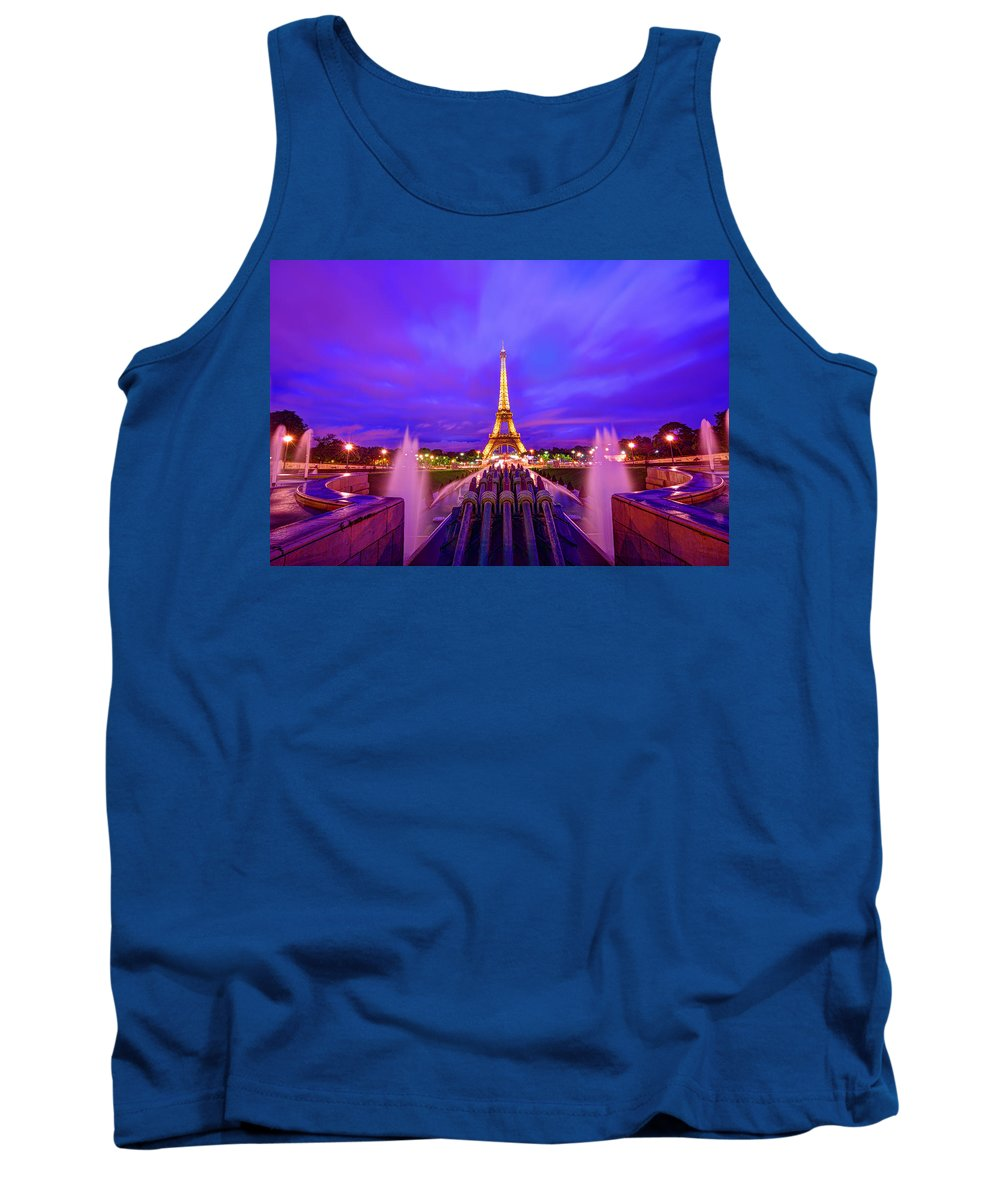 Eiffel Tower Tank Top featuring the photograph Magic Moment by Midori Chan