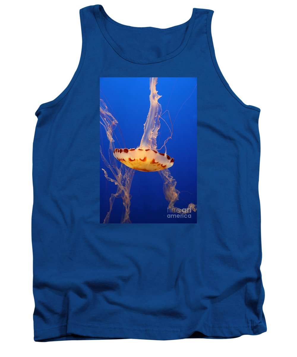 Medusa Jelly Tank Top featuring the photograph Medusa Jelly by Christiane Schulze Art And Photography