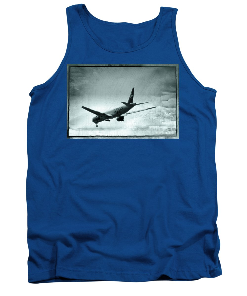 Sky Team Tank Top featuring the photograph Mayday, Mayday, Mayday by Doc Braham