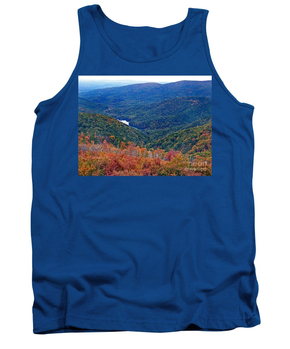 Scenic Tours Tank Top featuring the photograph Mountain Gem by Skip Willits