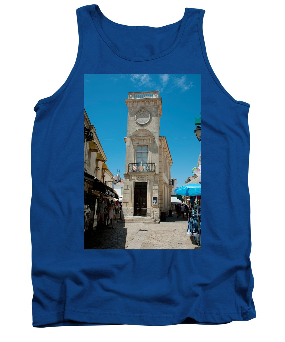 Photography Tank Top featuring the photograph Museum Of Popular Arts, Musee by Panoramic Images