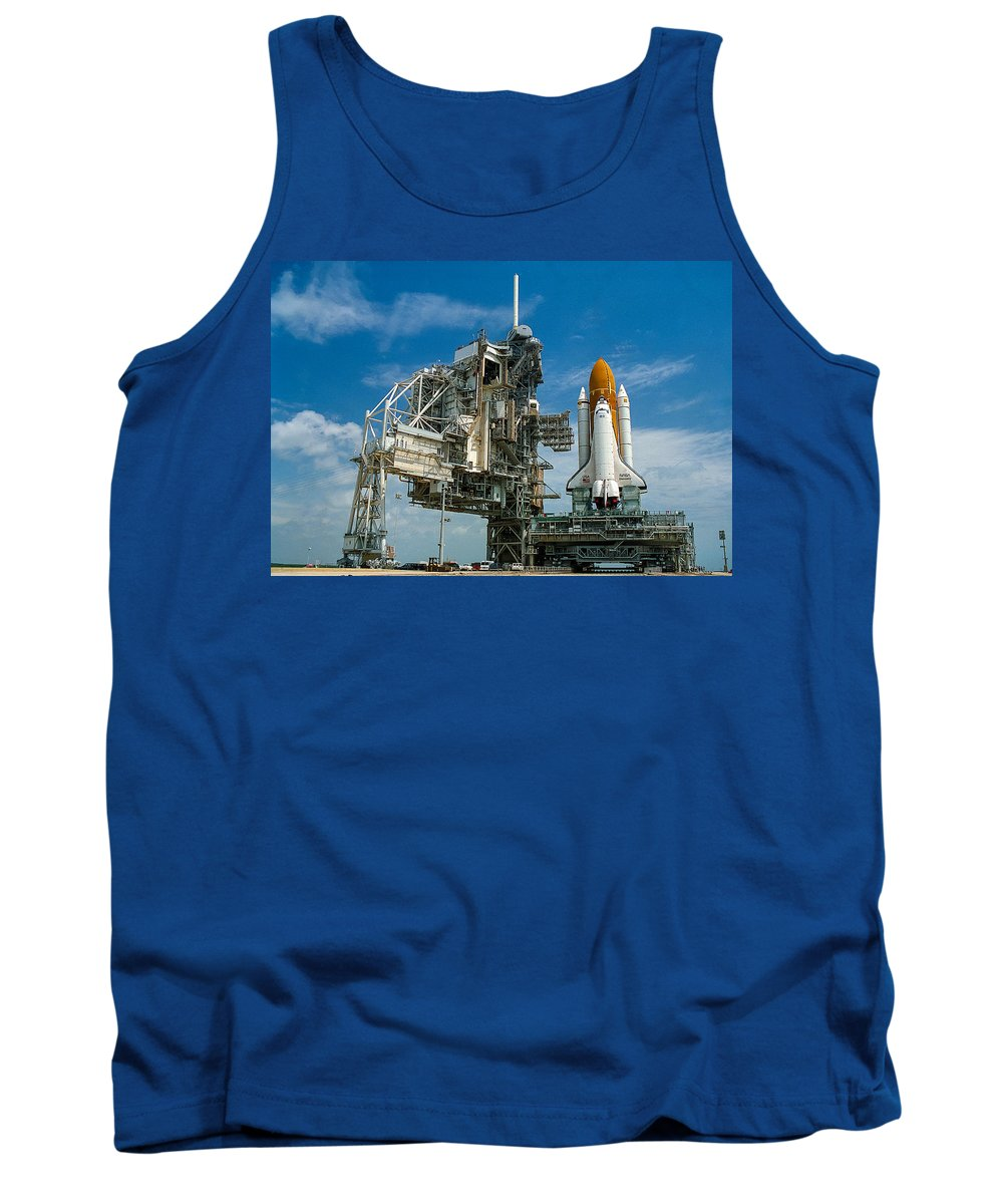 Space Shuttle Tank Top featuring the photograph Nasa Space Shuttle by Chad Rowe