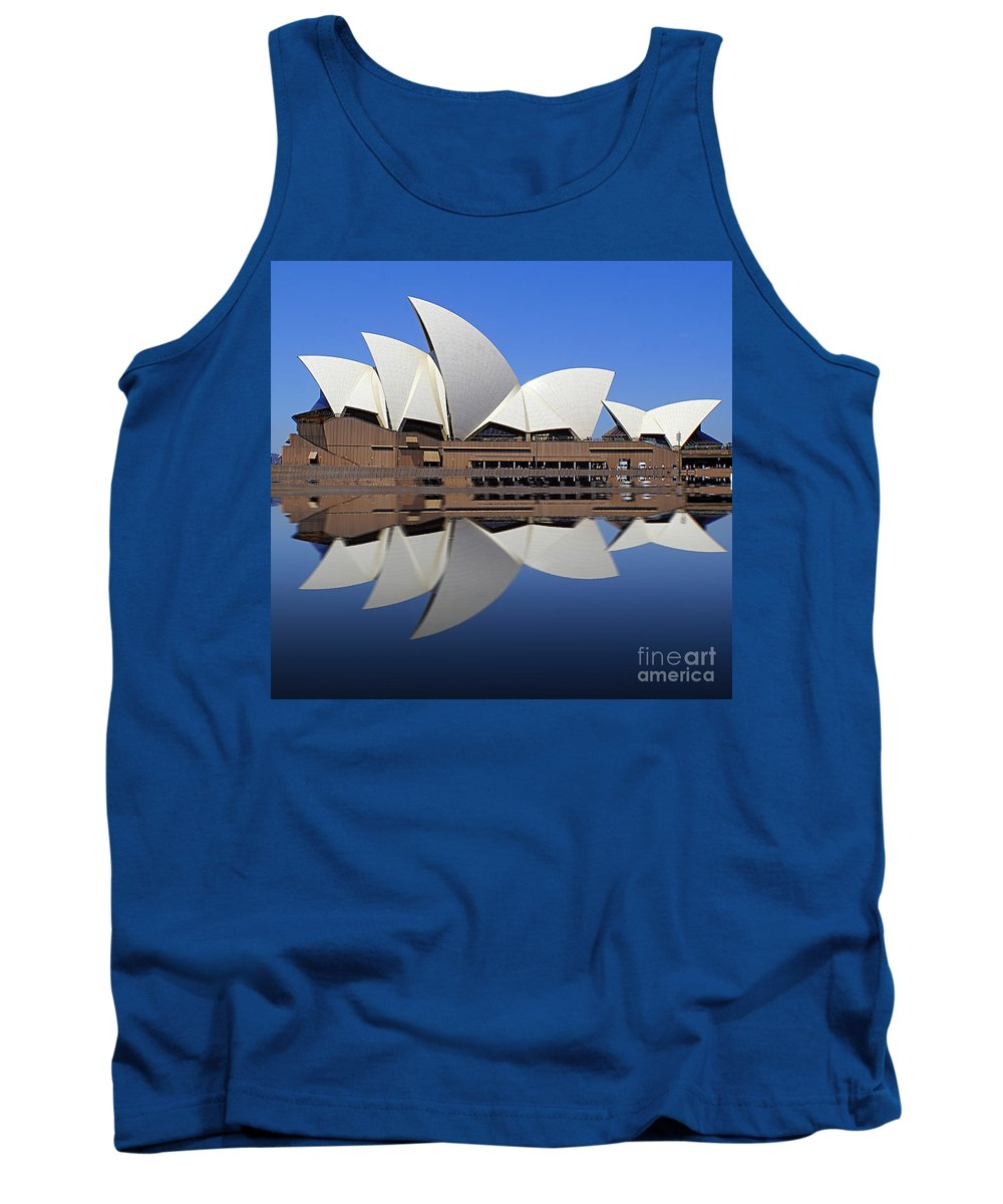 Australia Tank Top featuring the photograph Opera House 6 by Ben Yassa