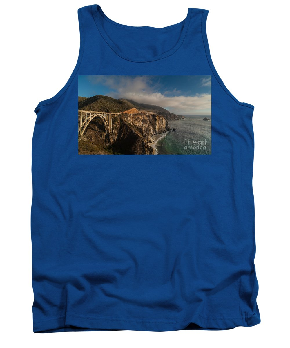 Soberanes Tank Top featuring the photograph Pacific Coastal Highway by Mike Reid