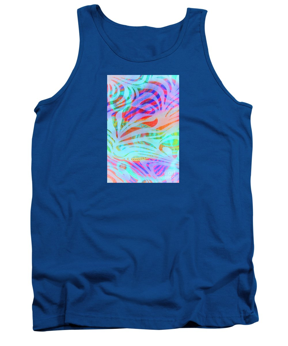 Abstract Tank Top featuring the photograph Pacific Daydream by Nareeta Martin