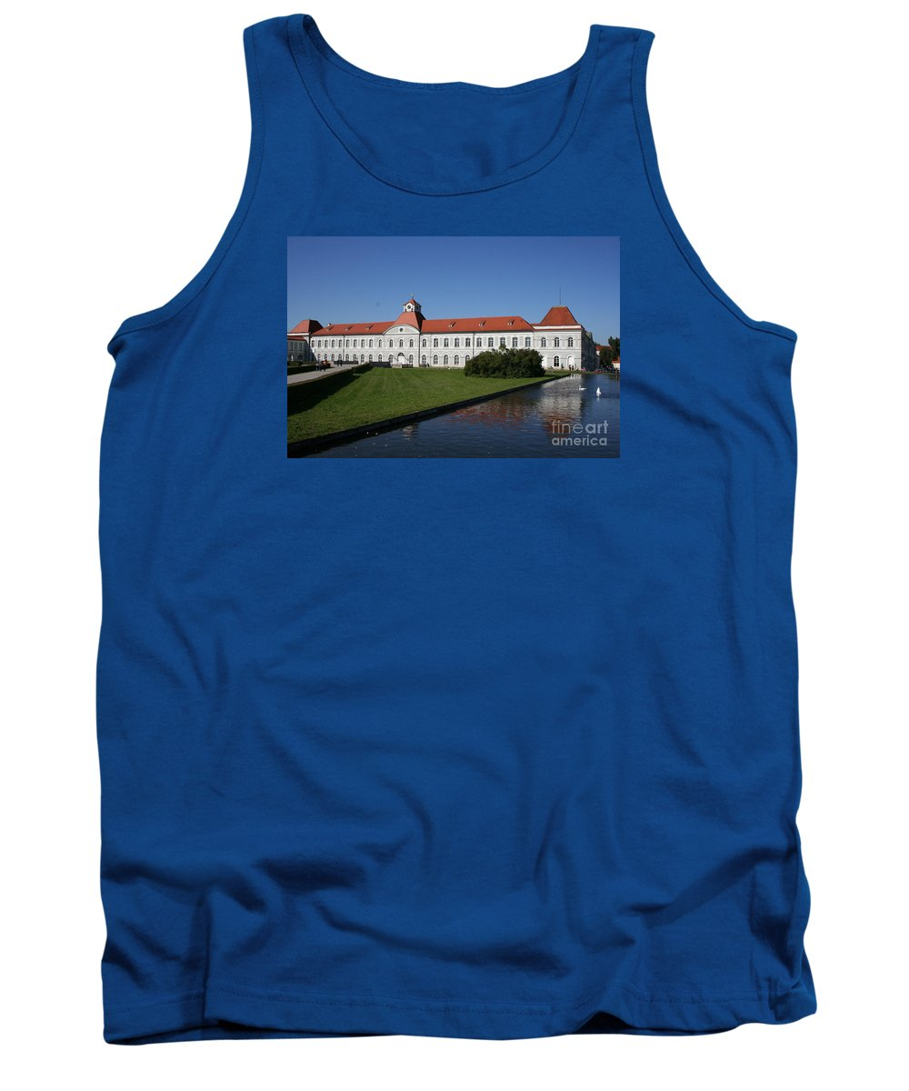 Palace Tank Top featuring the photograph Palace Nymphenburg - Germany by Christiane Schulze Art And Photography