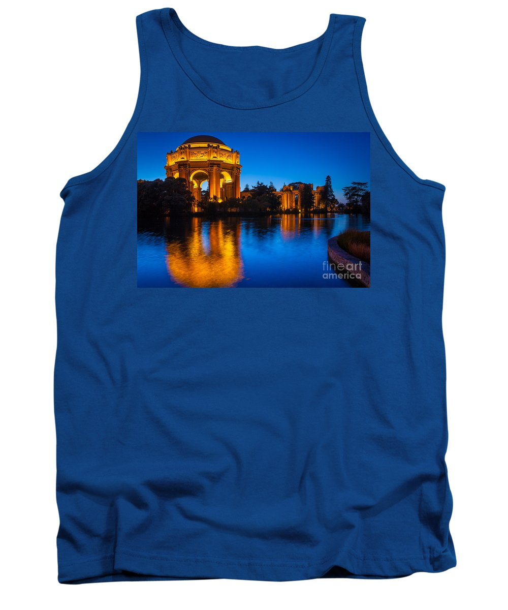 America Tank Top featuring the photograph Palace Of Fine Arts by Inge Johnsson