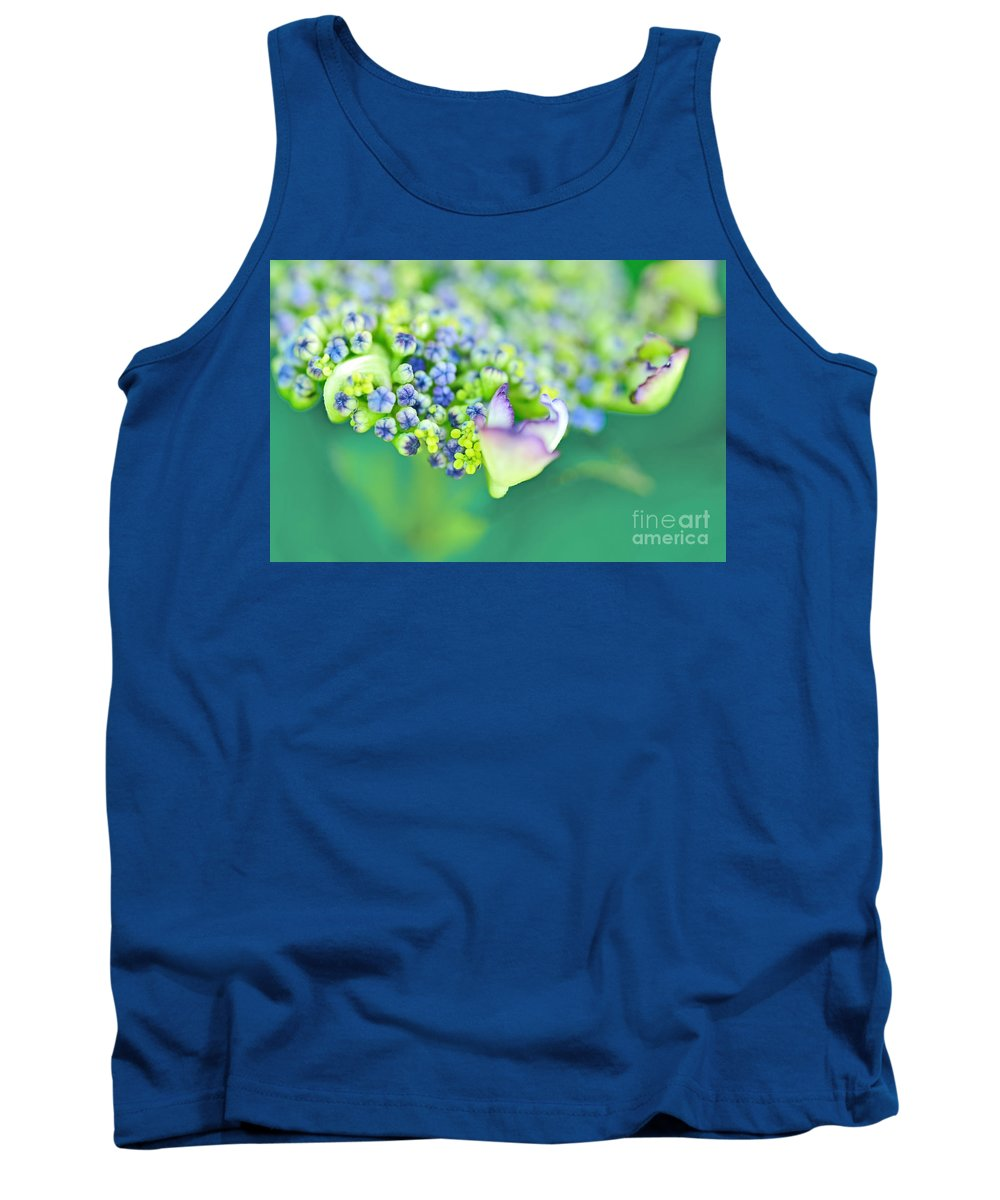 Photography Tank Top featuring the photograph Pastel Buds by Kaye Menner