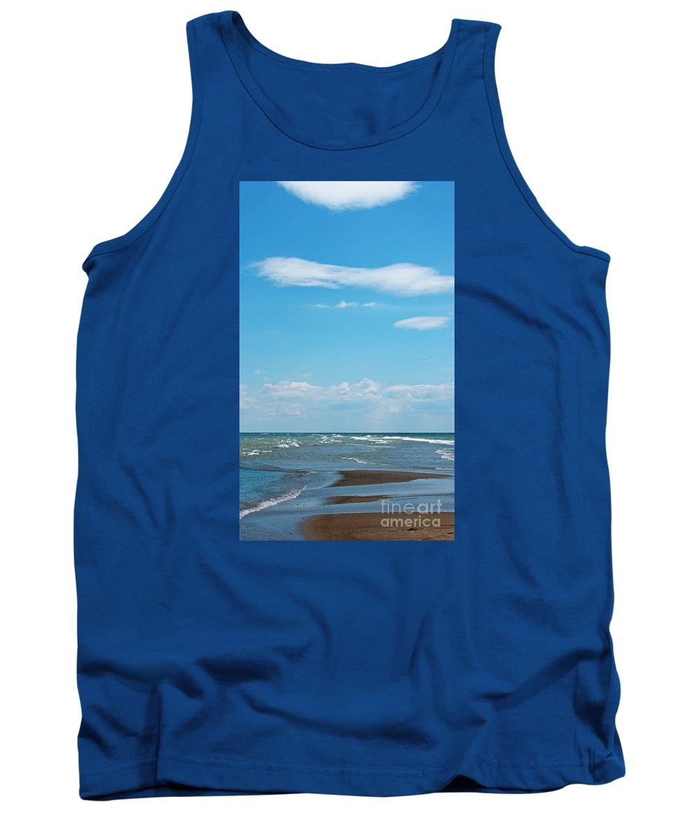 Canada Tank Top featuring the photograph Pelee by Ann Horn