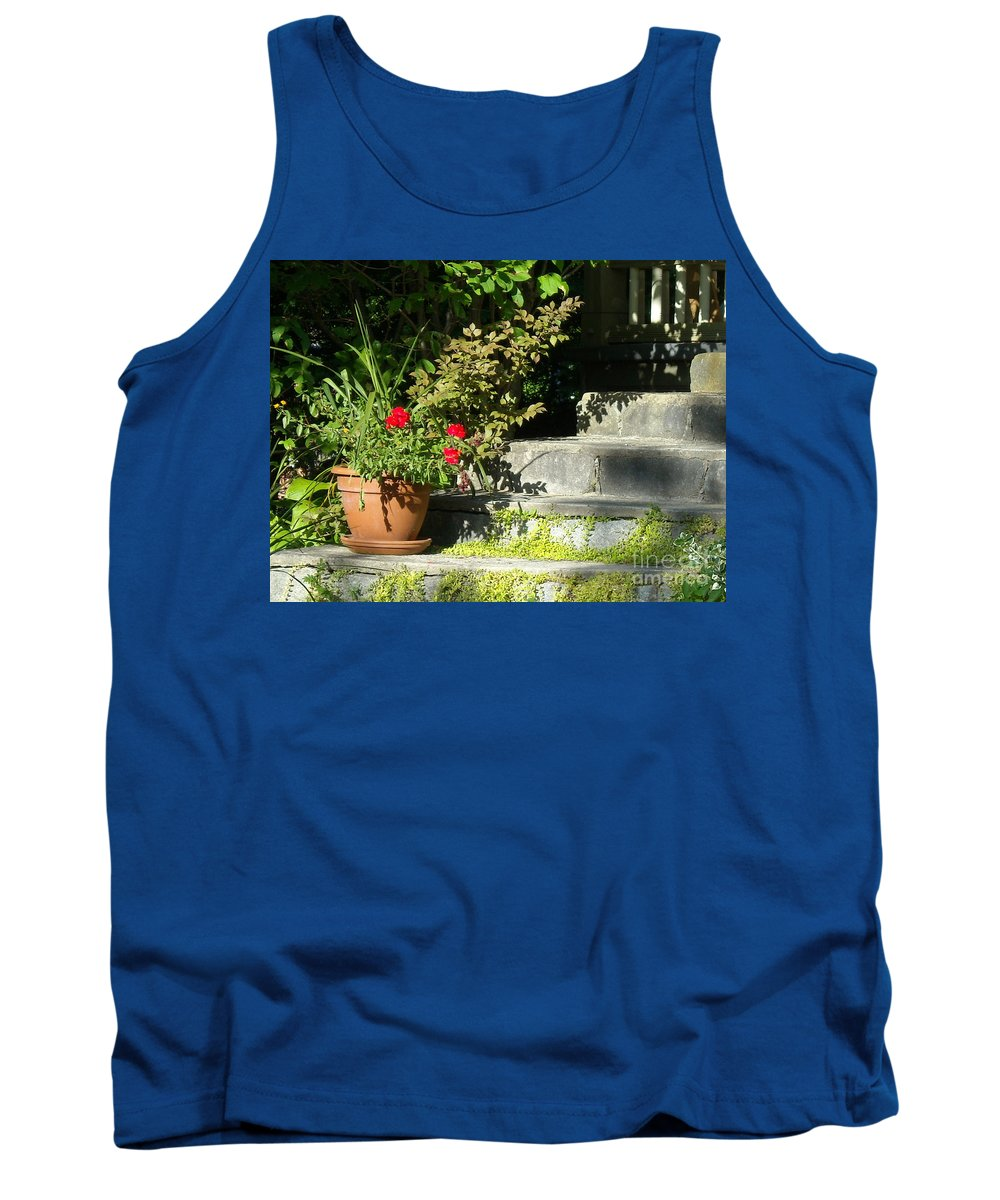 Flowers Tank Top featuring the photograph Pretty Gardens by Line Gagne