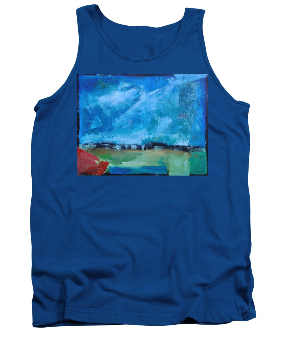 Abstract Tank Top featuring the painting Prophesy by Tim Nyberg