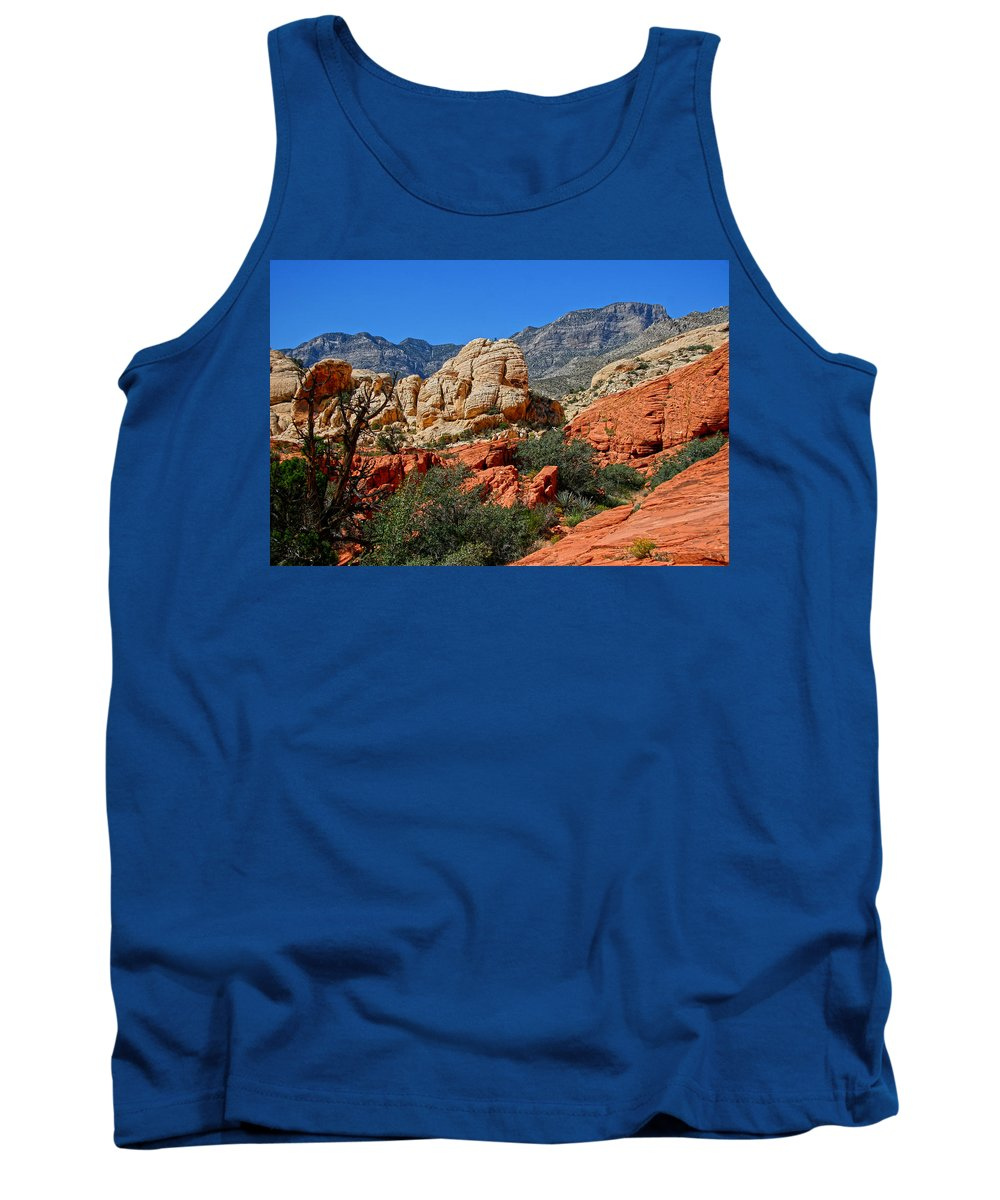 Red Rock Canyon Tank Top featuring the photograph Red Rock Canyon 5 by Chris Brannen