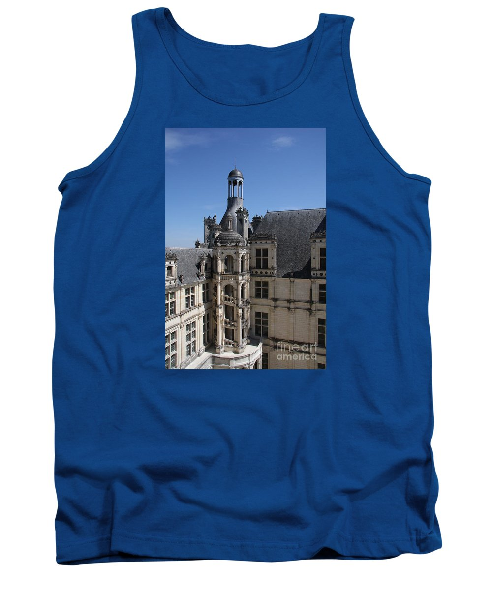 Palace Tank Top featuring the photograph Round Stairway by Christiane Schulze Art And Photography