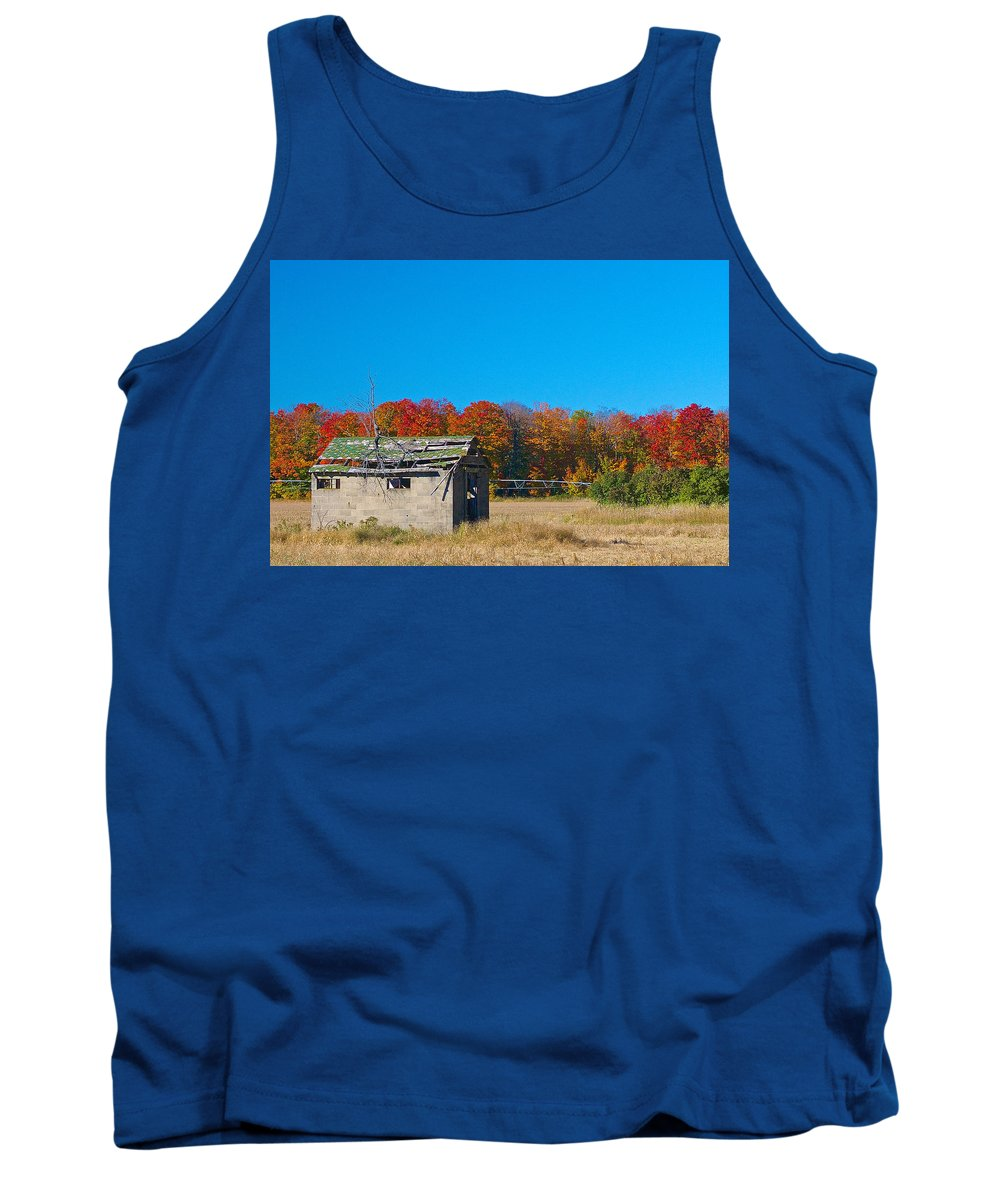 Old Tank Top featuring the photograph Ruins by Tim Schmidt