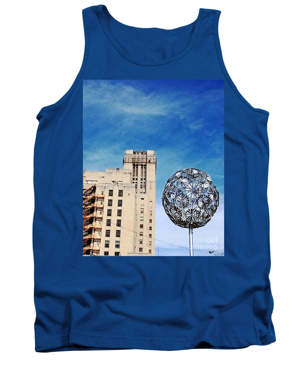 Memphis Tank Top featuring the photograph Sears Crosstown Memphis by Lizi Beard-Ward