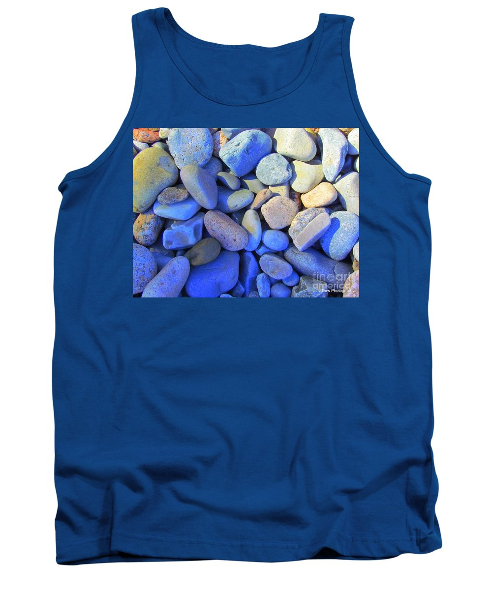 Rocks Tank Top featuring the photograph Shadow Stones by Elizabeth Dow
