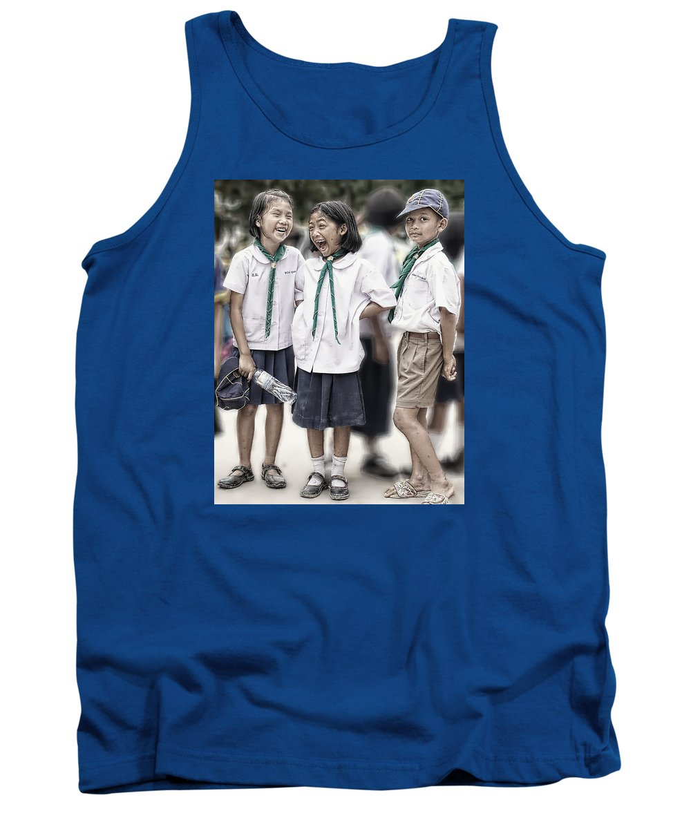 Children Tank Top featuring the photograph So Funny by Ian Gledhill