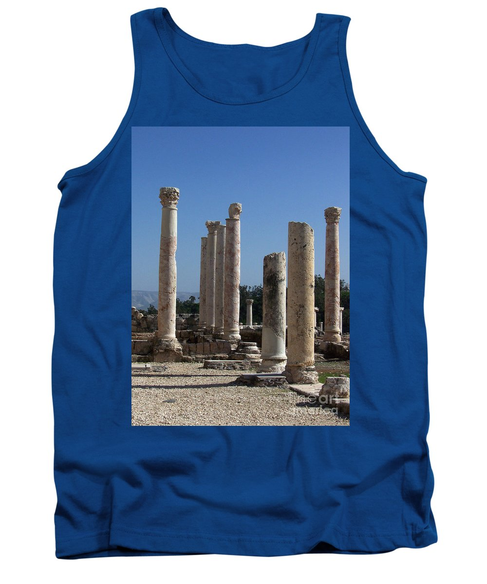 Israel Tank Top featuring the photograph Still Standing by Kathy McClure