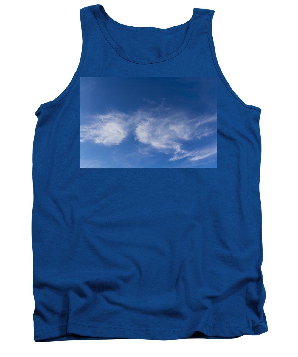 Sky Tank Top featuring the photograph Summer Sky by David Pyatt