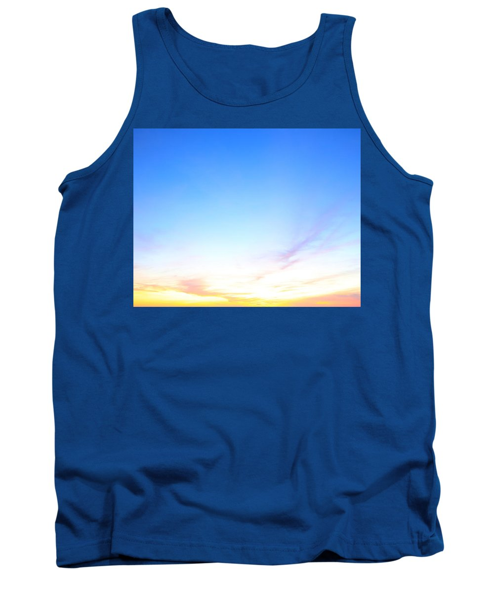 Sunrise Tank Top featuring the photograph Sunrise Colors by Paul Ranky