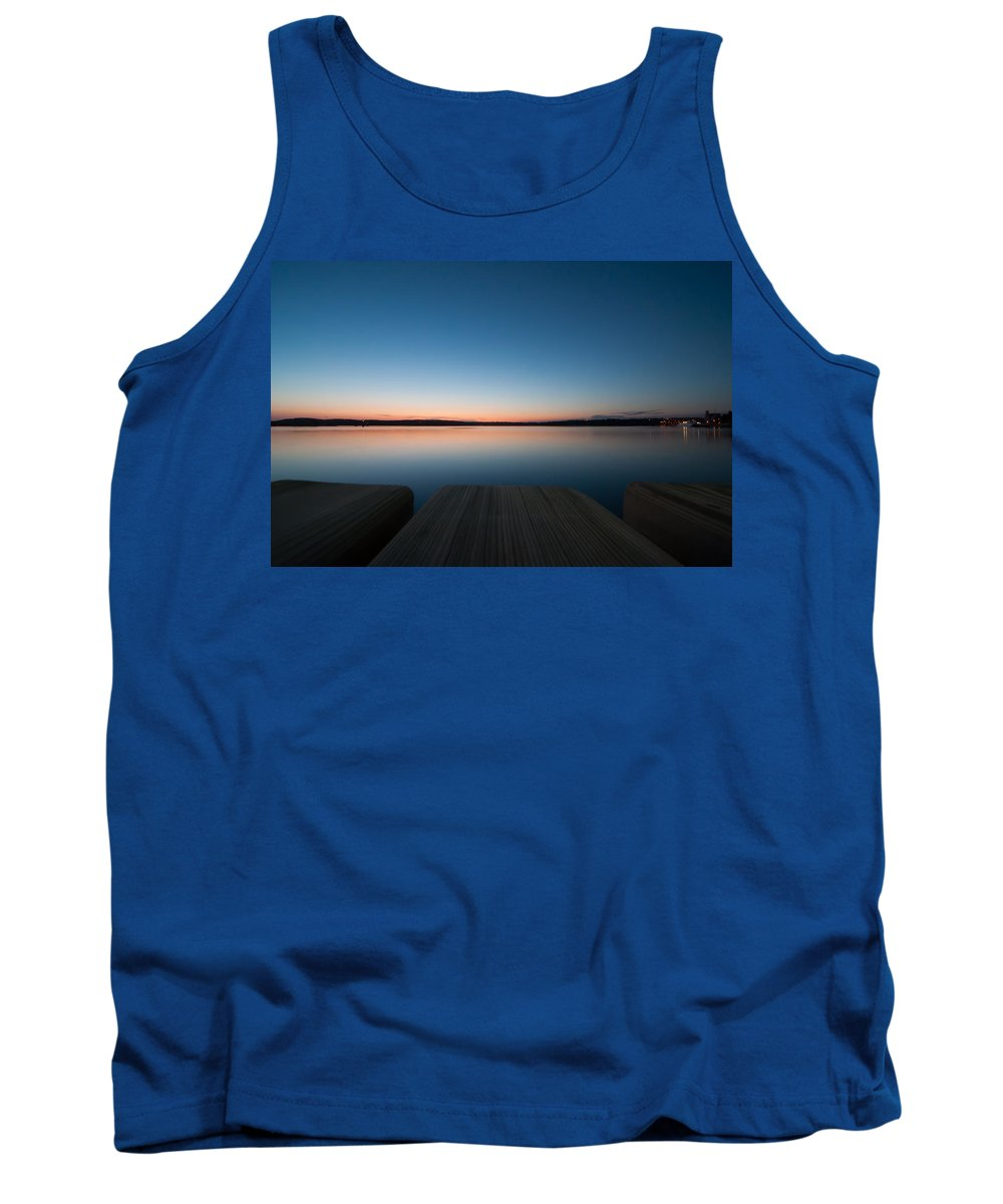 Adriatic Tank Top featuring the photograph Sunset In Croatia by Amel Dizdarevic