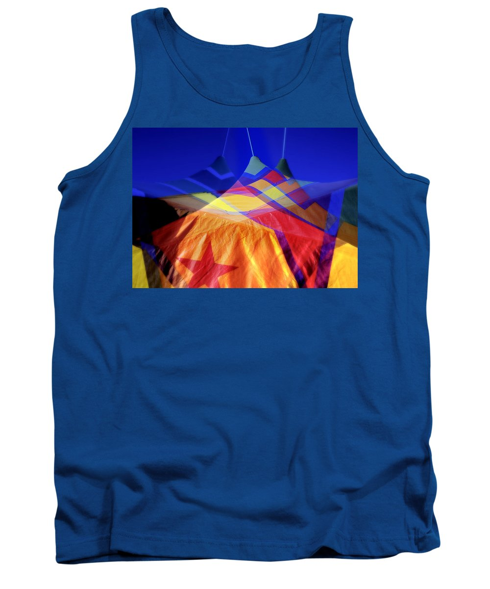 Tent Tank Top featuring the photograph Tent Of Dreams by Wayne Sherriff