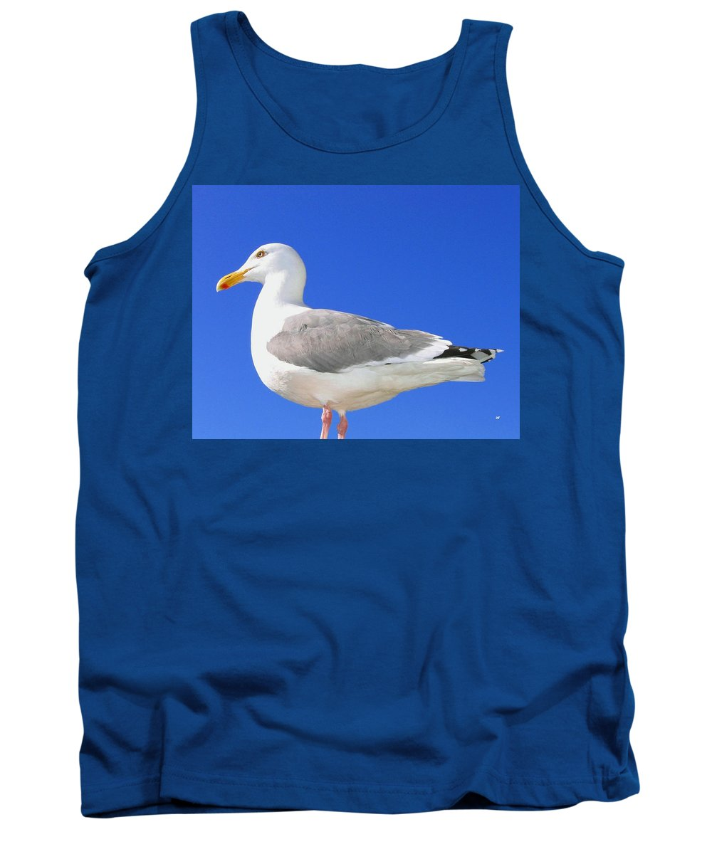 The Admiral Tank Top featuring the photograph The Admiral by Will Borden