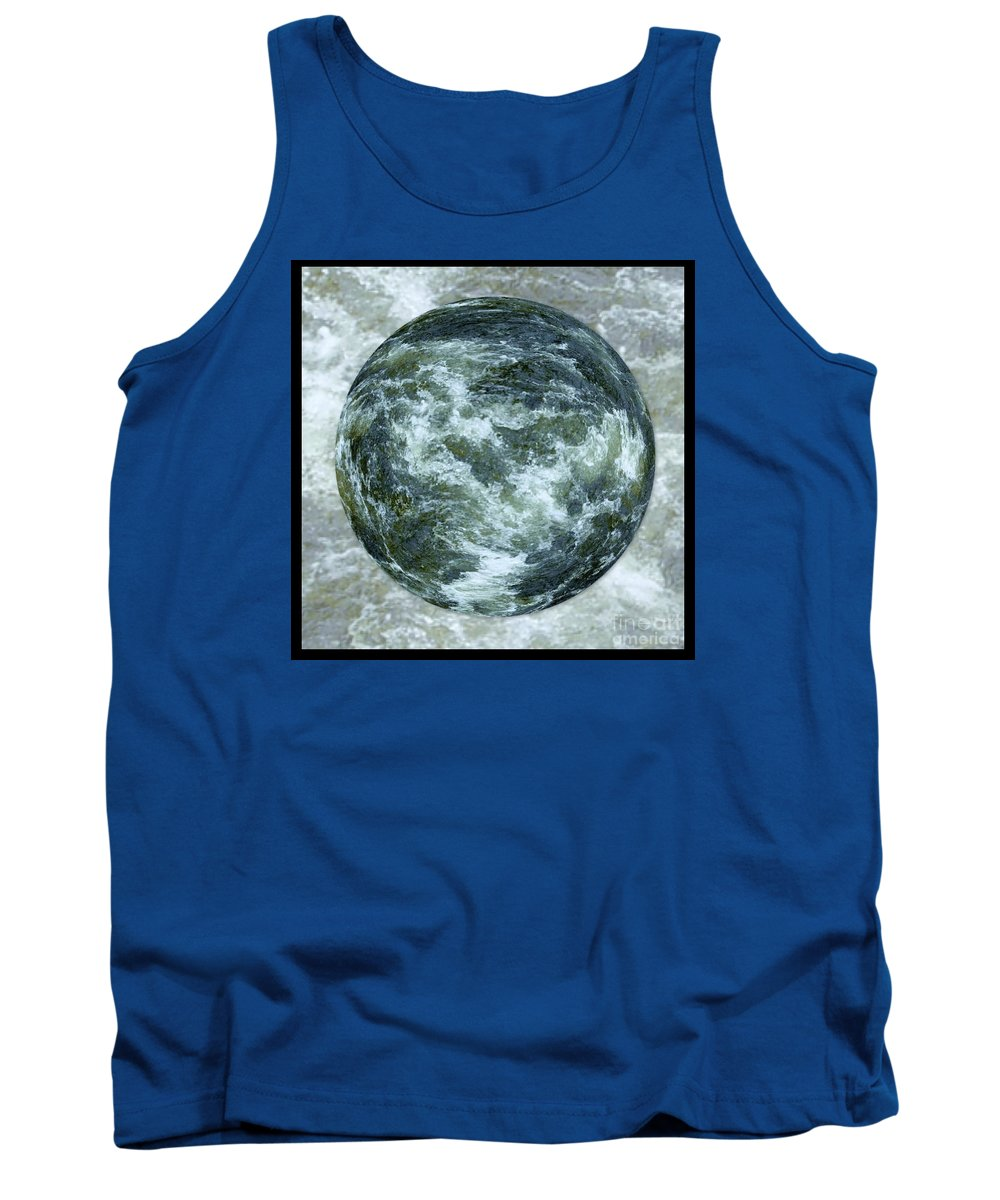 Water Tank Top featuring the photograph The Flood by Joan-Violet Stretch